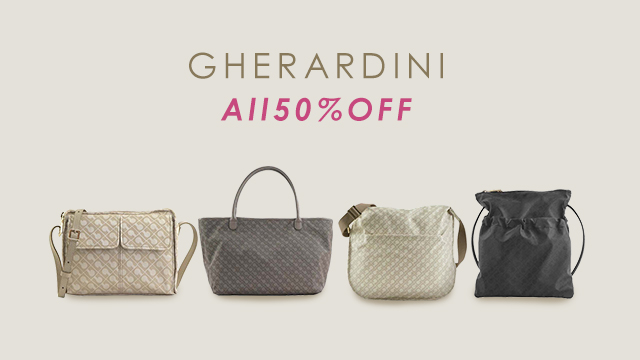 【ALL 50%OFF】GHERARDINI