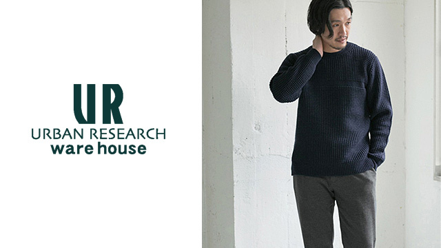 URBAN RESEARCH warehouse - mens
