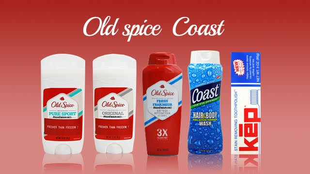 old spice・Coast