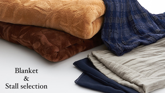Blanket &Stall selection