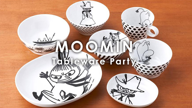 MOOMIN Tableware Party
