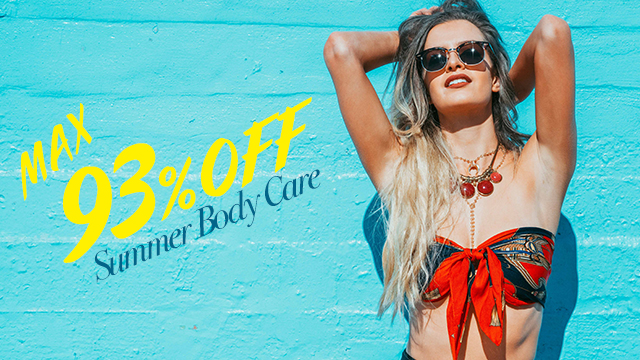 【MAX93%OFF】Summer Body Care