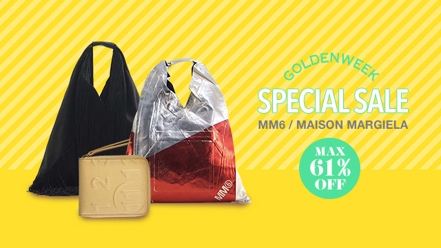 【GOLDENWEEK SPECIAL SALE】MAX61%OFF~MM6 / MAISON MARGIELA~