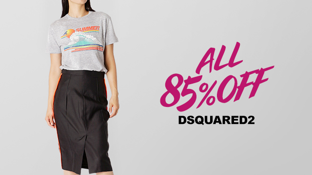 【ALL85%OFF】DSQUARED2