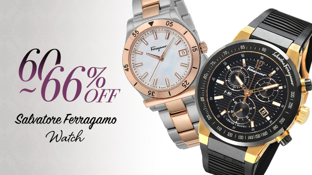 【60~66%OFF】Salvatore Ferragamo Watch