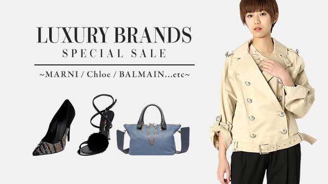 LUXURY BRANDS SPECIAL SALE ~MARNI / Chloe / BALMAIN ...etc~