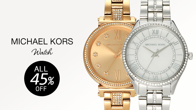 【ALL 45% OFF】MICHAEL KORS WATCH