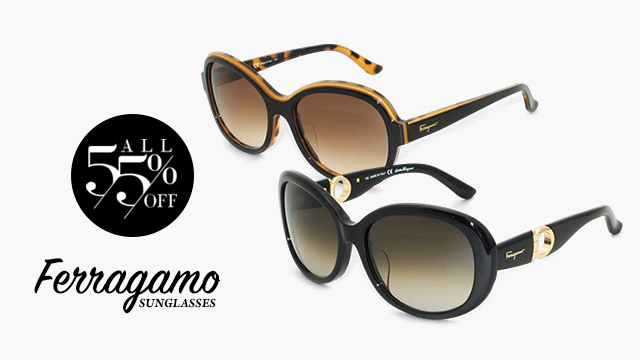【All 55%OFF】FERRAGAMO SUNGLASSES