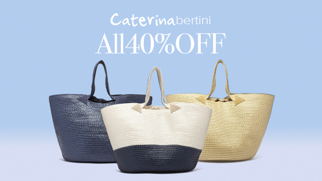 【ALL40%OFF】Caterina bertini