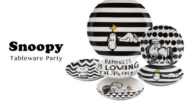 Snoopy Tableware Party