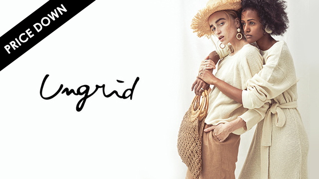 Ungrid - 2018SS MORE PRICE DOWN -