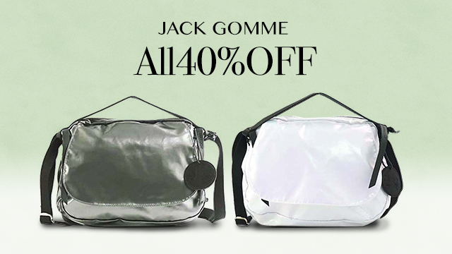 【ALL40%OFF】JACK GOMME