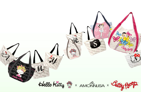 AMONNLISA×Hello Kitty×BETTY BOO - Hello Kitty