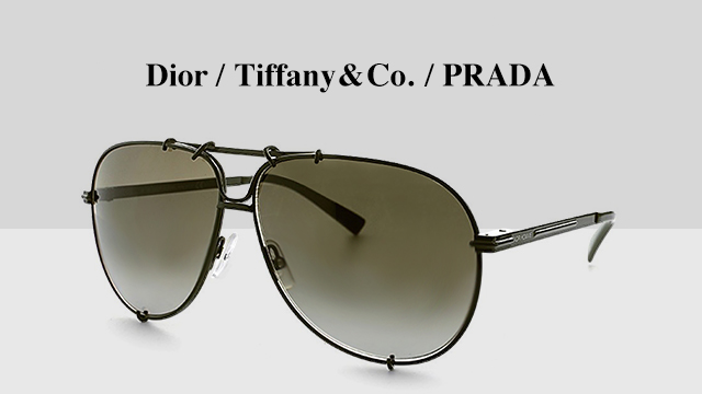 Dior / Tiffany & Co. / PRADA