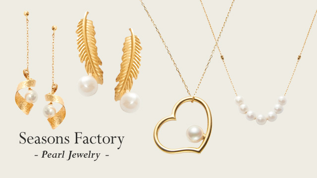 Seasons Factory - Pearl Jewelry -