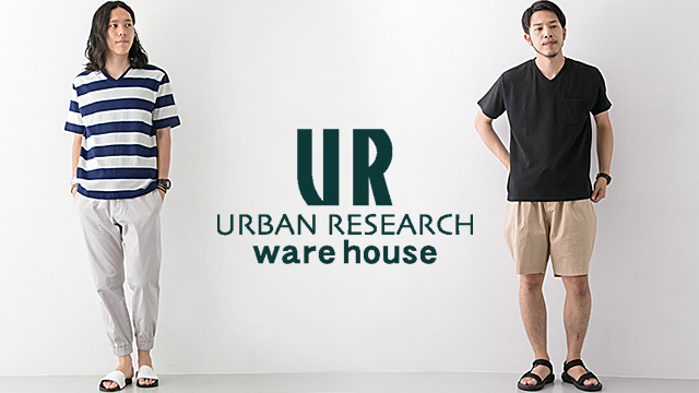 URBAN RESEARCH warehouse mens