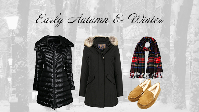 Early Autumn & Winter