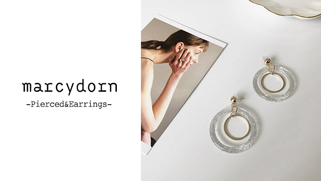 marcydorn~Pierced&Earrings~