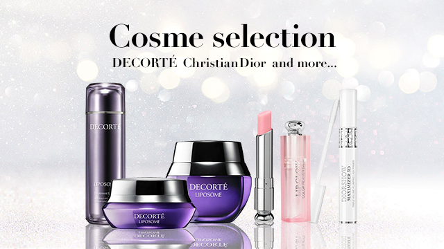 Cosme selection - DECORTÉ / Christian Dior and more...
