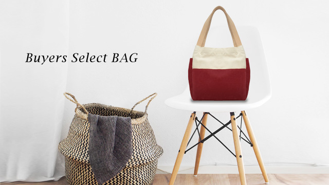 Buyers select BAG ... and more!