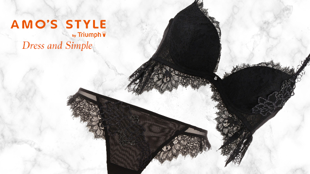 AMO'S STYLE by TRIUMPH-Dress and  simple