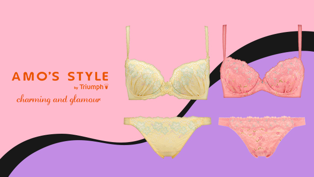AMO'S STYLE by TRIUMPH-charming and  glamour