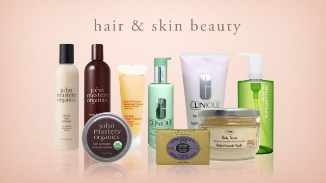 hair & skin beauty