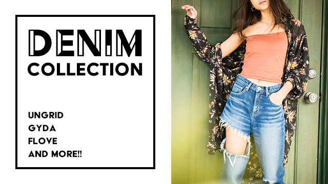 Denim Collection - Ungrid / GYDA / FLOVE and more...