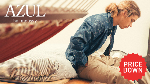 AZUL by moussy - MENS