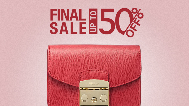 FINAL SALE UP TO 50%OFF