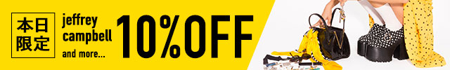 本日限定10%OFF_【Price Down】Jeffrey Campbell and more...