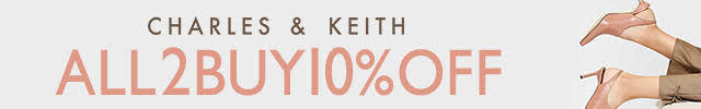 本日限定割引_2buy10%OFF_CHARLES & KEITH